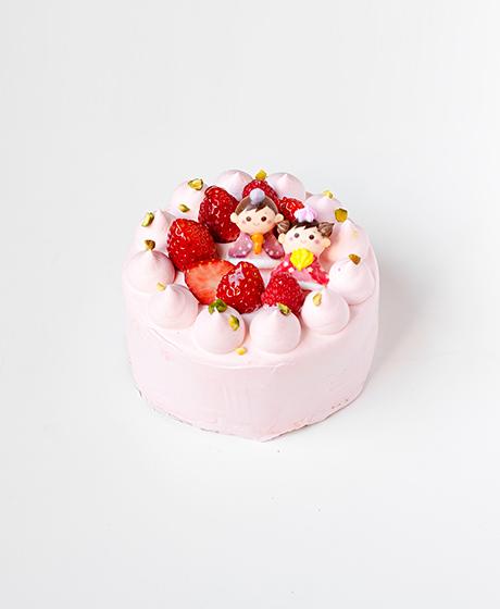 ひな祭り限定ショートケーキ