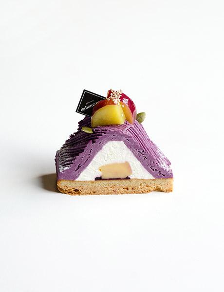 """紫芋モンブラン"""""""